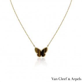 Van Cleef & Arpels Lucky Alhambra Butterfly Pendant VCARD98500